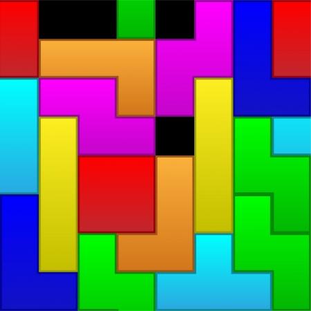 tetris: Tetris pattern