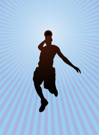 slam dunk: Basketball