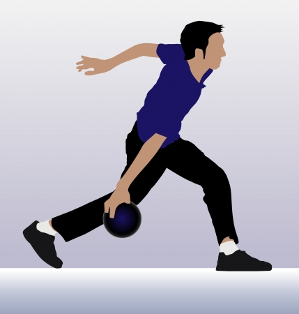execution: Bowling player