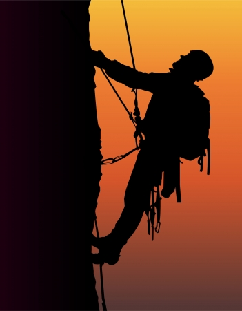 Alpinisme Banque d'images - 23897697