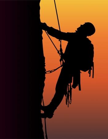climbing sport: Mountain Climbing