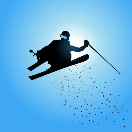 slalom: Ski jumping