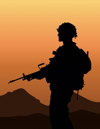 Soldier Stock Vector - 20842091