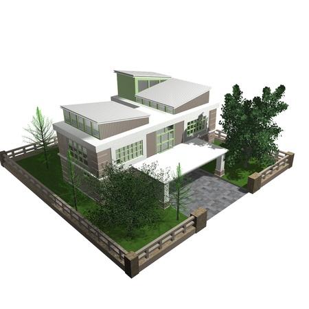 3d bungalow