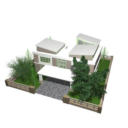 3d bungalow: 3d bungalow
