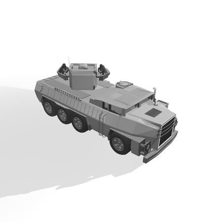 armoured: Armoured Vehicle Stock Photo