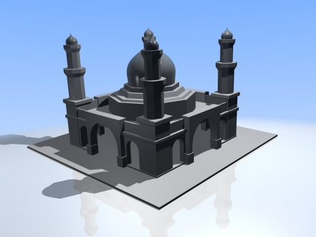 iconic architecture: mosque Stock Photo