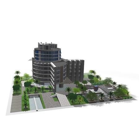 headquarter: Office building