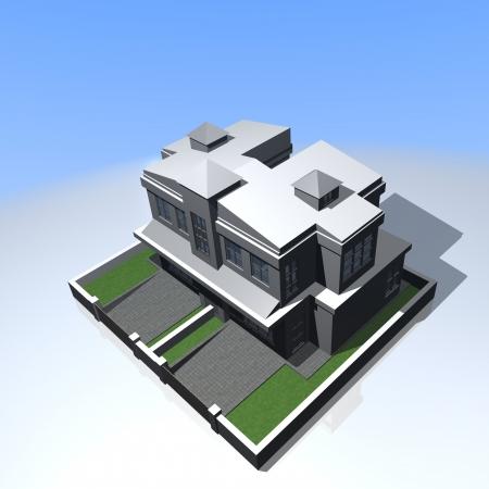 cgi: Semi Detached House