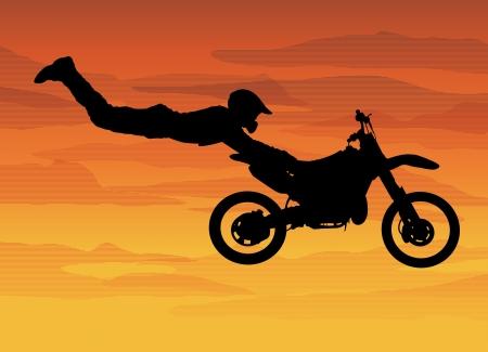 motor cycle: Motocross