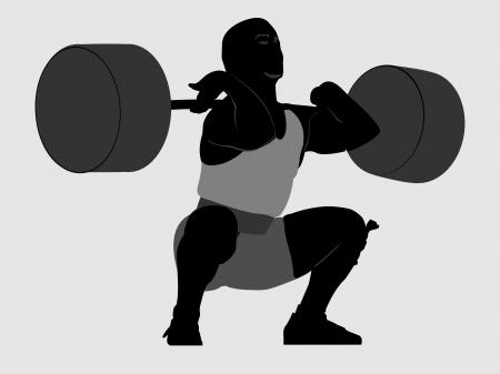 масса: тяжелая атлетика