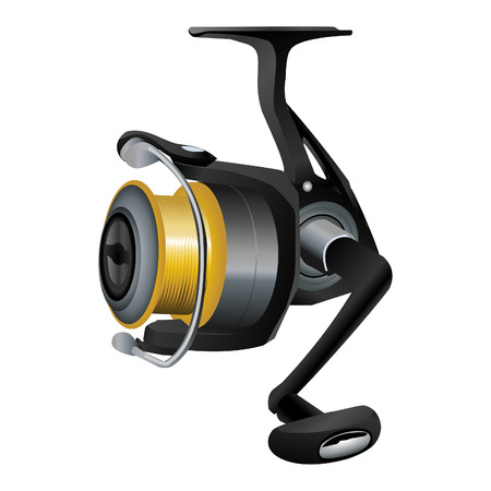 Fishing Reel Illustration