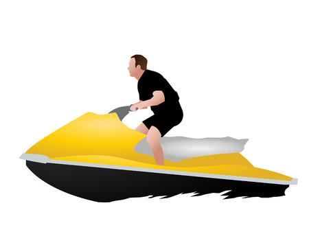 moto acuatica: Jet ski