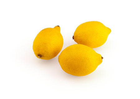 lemon on background, close up view, riped