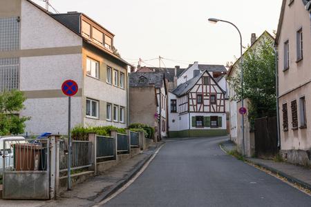 Koblenz - Germany, July 14, 2018: Old house in the city of Koblenz, Germany