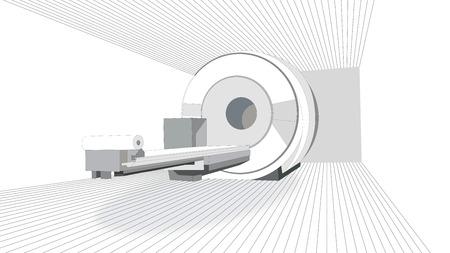 Scanner IRM Banque d'images - 43584003