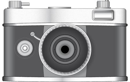 Photo camera illustration, generic