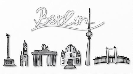 Illustration of Berlins emblem