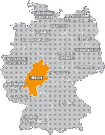 Germany Bundesländer: Hessen