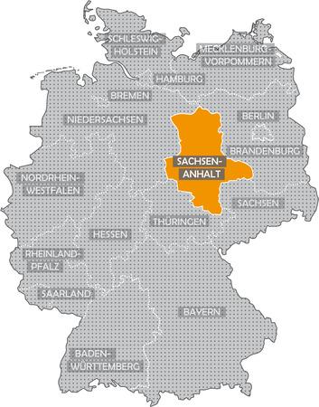 saxony: Germany Bundesl�nder: Saxony Anhalt