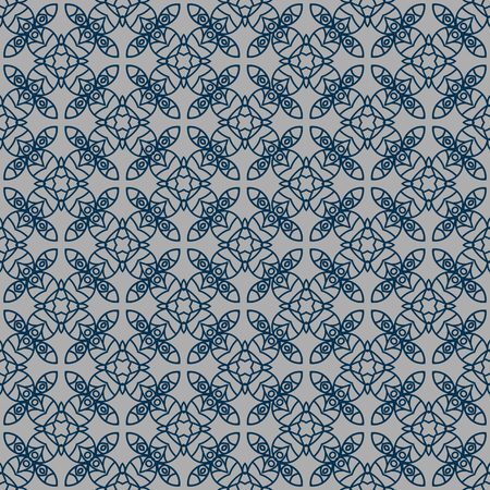 Ornamental seamless pattern. Repeating geometric background. Perfect for printing on fabric or paper Standard-Bild - 103548952