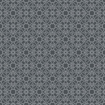 Ornamental seamless pattern. Repeating geometric background. Perfect for printing on fabric or paper Illustration