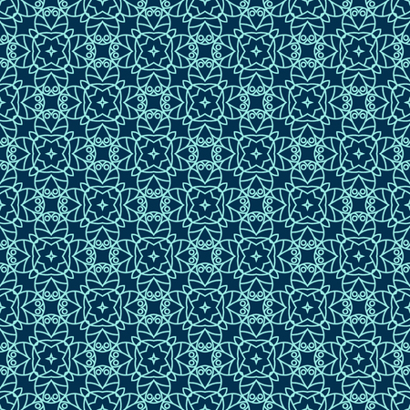 Ornamental seamless pattern. Repeating geometric background. Perfect for printing on fabric or paper Standard-Bild - 103549269