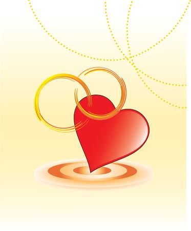 Beautiful Wedding vector card Stock Vector - 4010246