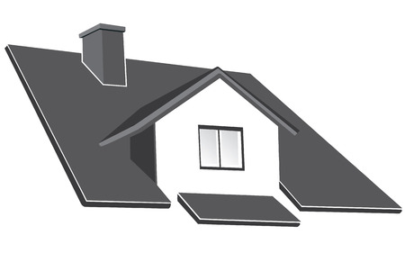 House ruff vector illustration Vector