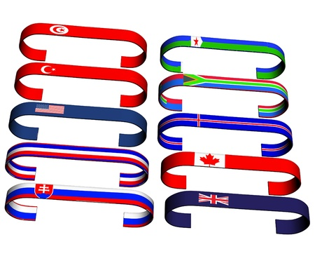 flags Stock Photo - 17163294
