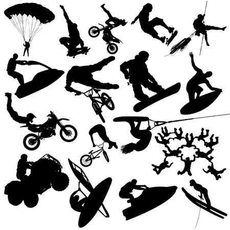 Extreme sports Stock Vector - 5671555