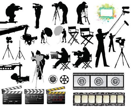 Set de la película Foto de archivo - 6397453