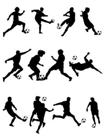 world player: F�tbol Vectores