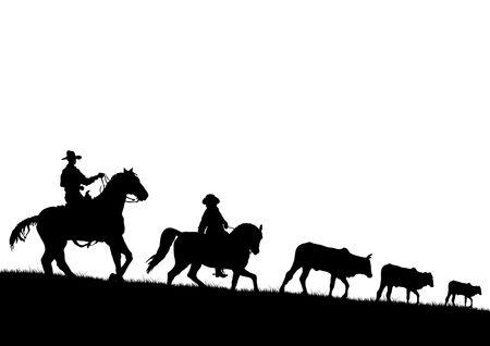 Cowboy  イラスト・ベクター素材