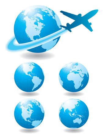 airplane wing: Airplane Travel
