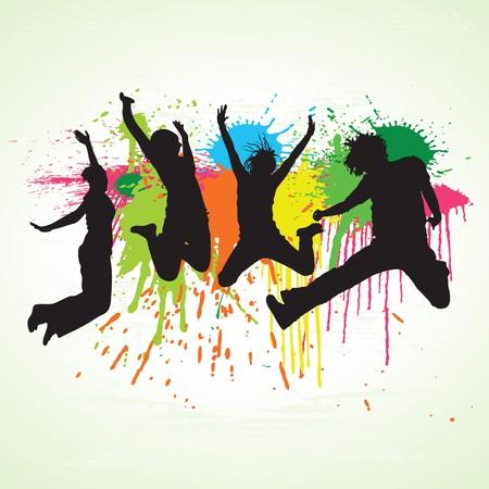 paint drop: Happy People 1