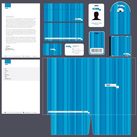 アイデンティティ キット |青いパッケージ