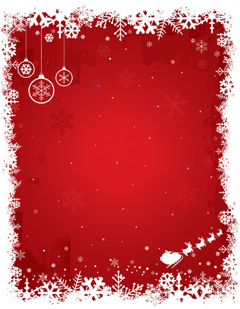 Christmas Backgrounds | Red 2 Vector