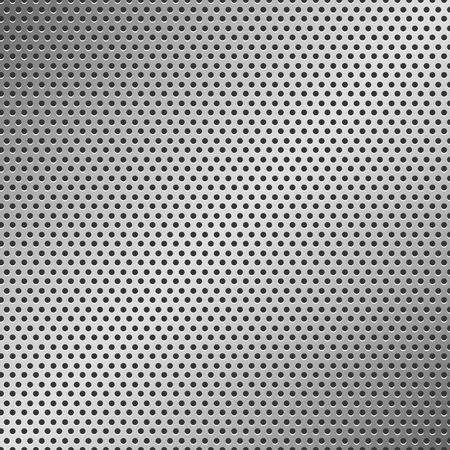 vezels: Geperforeerde metalen patroon