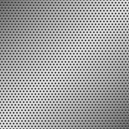 textured effect: Perforated Metal Pattern