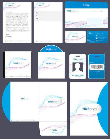 Corporate Identity Kit | Wave Pattern