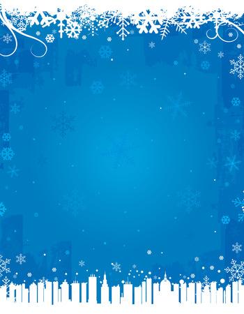 Blue Winter Backgrounds Иллюстрация