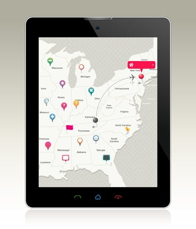 pad: Navigation Pins on Pad