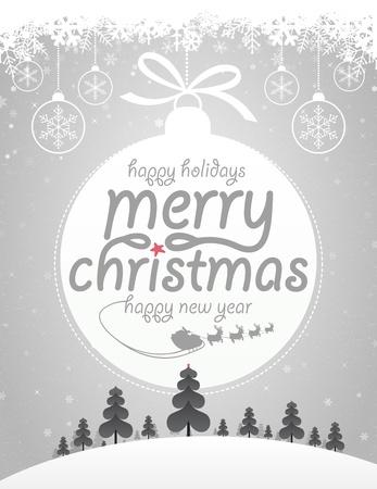 renna: Buon Natale Vettoriali