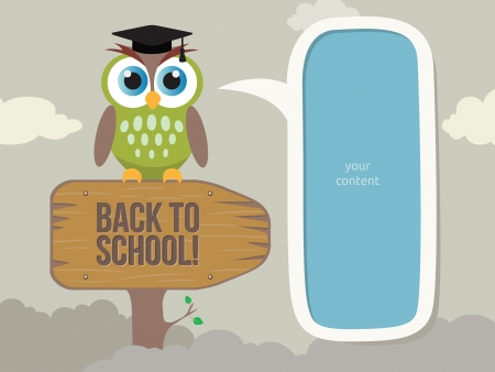 Back to School Иллюстрация