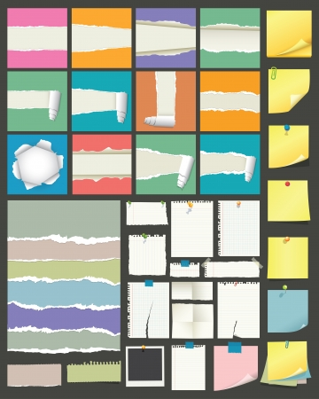 sticky note: Papers