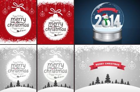 Christmas and Snow Globe
