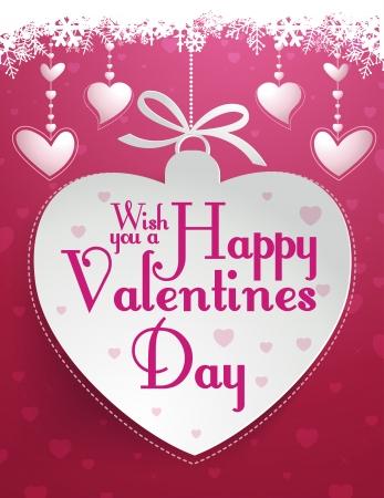 Happy Valentine s Day Иллюстрация