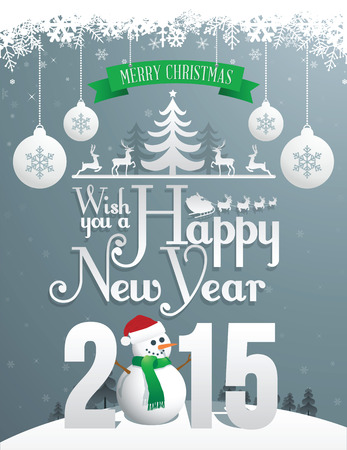 Christmas Greeting Card - Poster