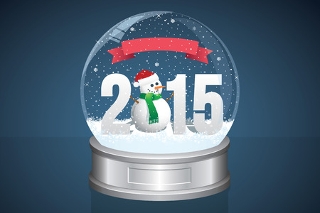 Snow Globe and Snowman